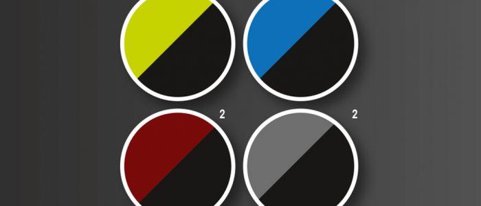 Two-Tone Lackierung (weitere Farben möglich)